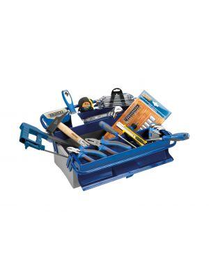 Caja herramientas de 3 bandejas con 85 piezas