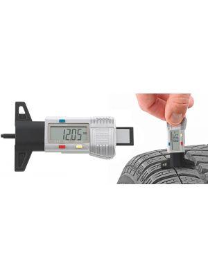 Calibre electrónico de taller para profundidad de neumáticos 12900/4 - Stahlwille