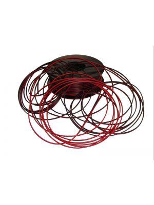 Cable pararelo rojo-negro