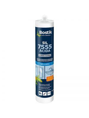 Silicona ácida SIL 7555 Bostik