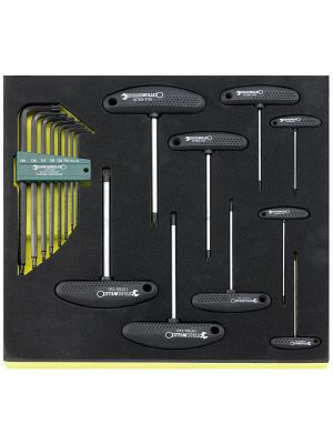Destornilladores de dos codos en bandeja TCS TCS 10769+10771/17 - Stahlwille