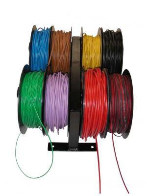 Expositor de cable para 8 rollos